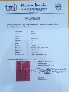 sertifikasi museum pusaka tmii carubuk
