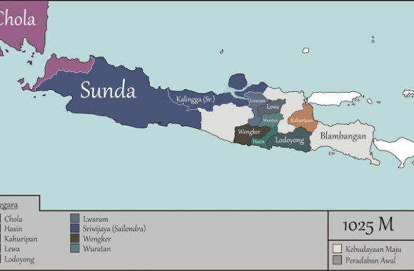 Peta Sejarah Kerajaan di Jawa